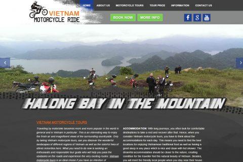 Thiết kế website du lịch Thanh Hóa