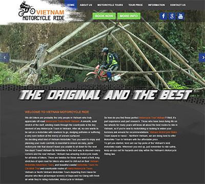 Thiết kế website du lịch tại HÀM RỒNG MEDIA mang đến cho bạn giao diện ấn tuợng, công cụ marketing hiệu quả tối ưu ROI thân thiện SEO