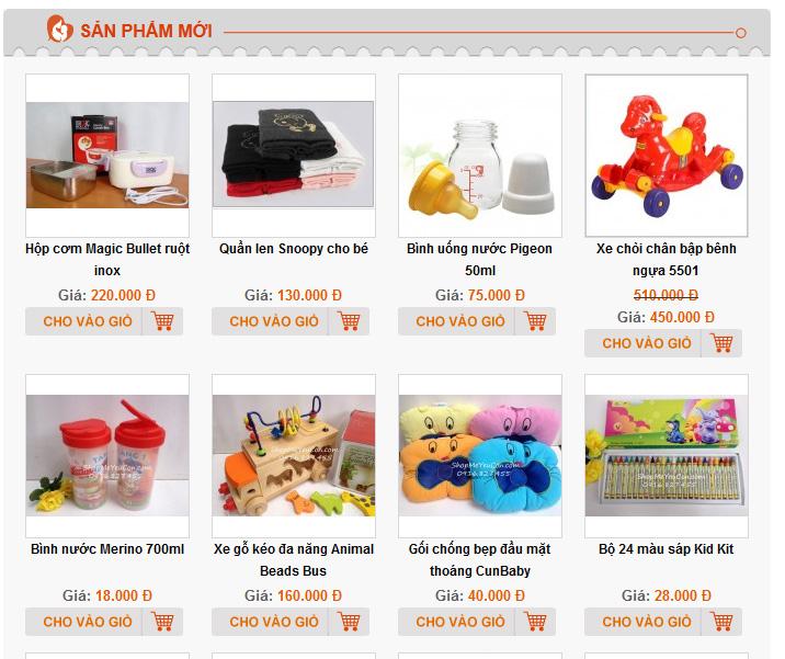 Thiết kế website bán hàng giá rẻ tại Thanh Hóa