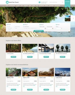 Theme du lịch WordPress, Website du lịch