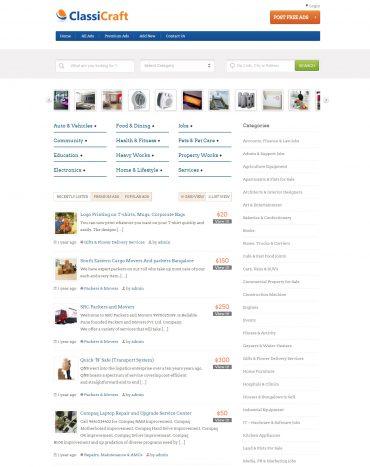 Theme rao vặt WordPress, website rao vặt