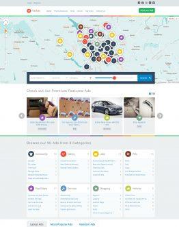 theme rao vặt WordPress, dịch vụ thiết kế Web rao vặt chuyên nghiệp