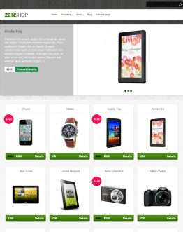 Shop bán hàng WordPress theme