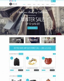 Mercor - theme bán hàng WordPress, website bán hàng
