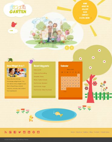 KinderGarten theme