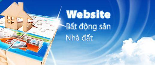 thiết kế website bất động sản, nhà đất, thiết kế web bất động sản