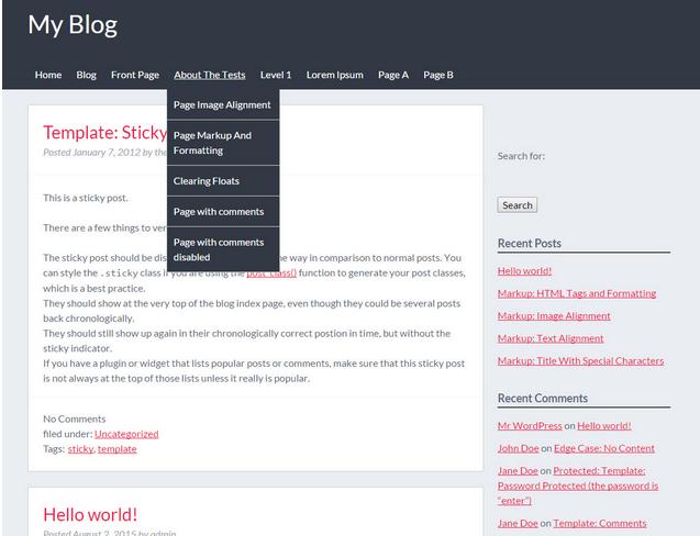 Enchanting Starter Theme Wordpress Model - Professional Resume ...