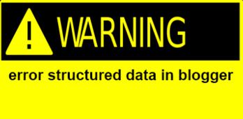 hướng dẫn những nhà thiết kế web chuyên nghiệp sửa lỗi cấu trúc dữ liệu trong Blogger