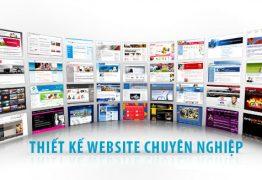 thiết kế web chuyên nghiệp - xu hướng thiết kế web năm 2016