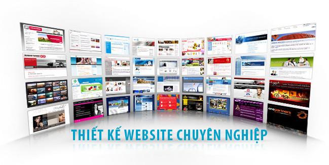 Thiết kế web chuyên nghiệp cho năm 2016