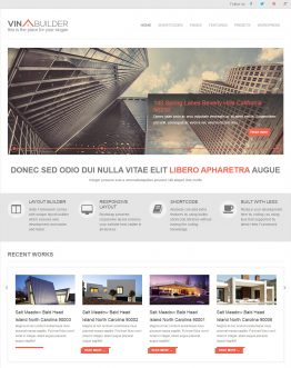 Website giới thiệu công ty kiến trúc