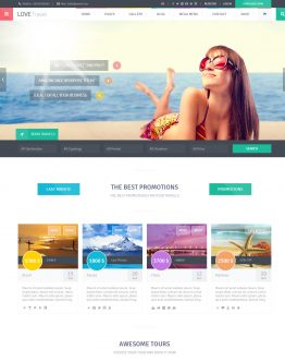 Theme du lịch WordPress, website du lịch