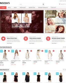 Shop thời trang WordPress theme