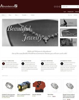 abundance, website bán hàng