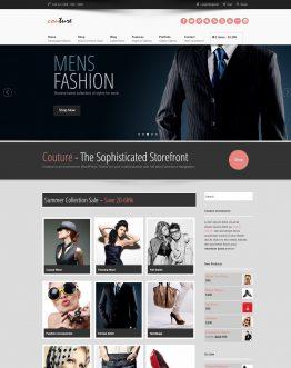 couture, shop thời trang, website bán hàng