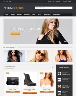 icarostore, shop thời trang, website bán hàng