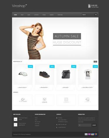 viroshop, website bán hàng, shop online