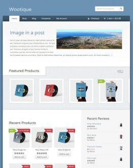 wootique theme bán hàng WordPress