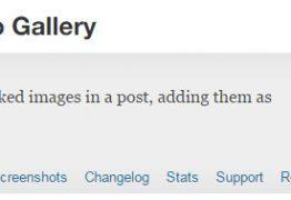 Add Linked Images To Gallery, lấy kèm ảnh khi copy bài viết