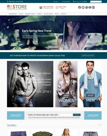GoodStore - Theme bán hàng WordPress, website bán hàng trực tuyến