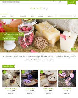 Organic Shop - Theme bán hàng WordPress, website bán hàng