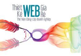Thiết kế website giá rẻ giới thiệu công ty, doanh nghiệp