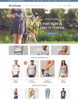 Flatsome - theme bán hàng WordPress, website bán hàng