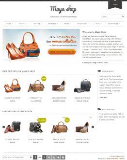 Maya - Website bán hàng, theme bán hàng WordPress
