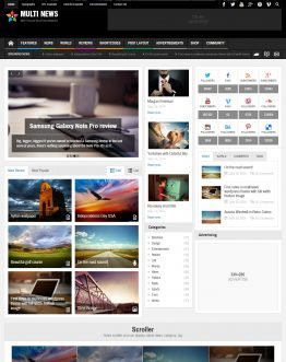 Multinews theme