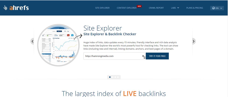 Những công cụ kiểm tra backlink cực chất