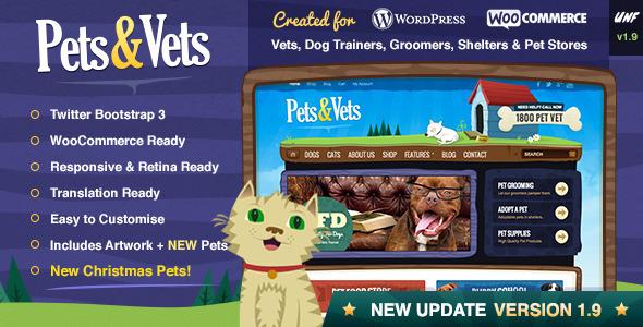 Thiết kế web bán thú cưng, mẫu website bán thú cưng cực đẹp