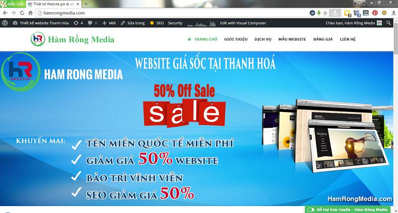Thiết kế website – tạo dựng thương hiệu của bạn