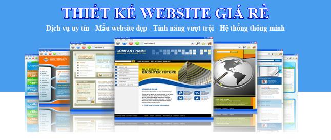 Thiết kế website giá rẻ tại Quảng Ninh