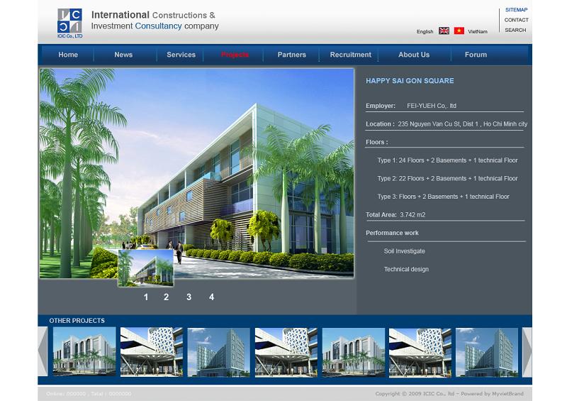 Thiết kế website công trình xây dựng cần những gì?