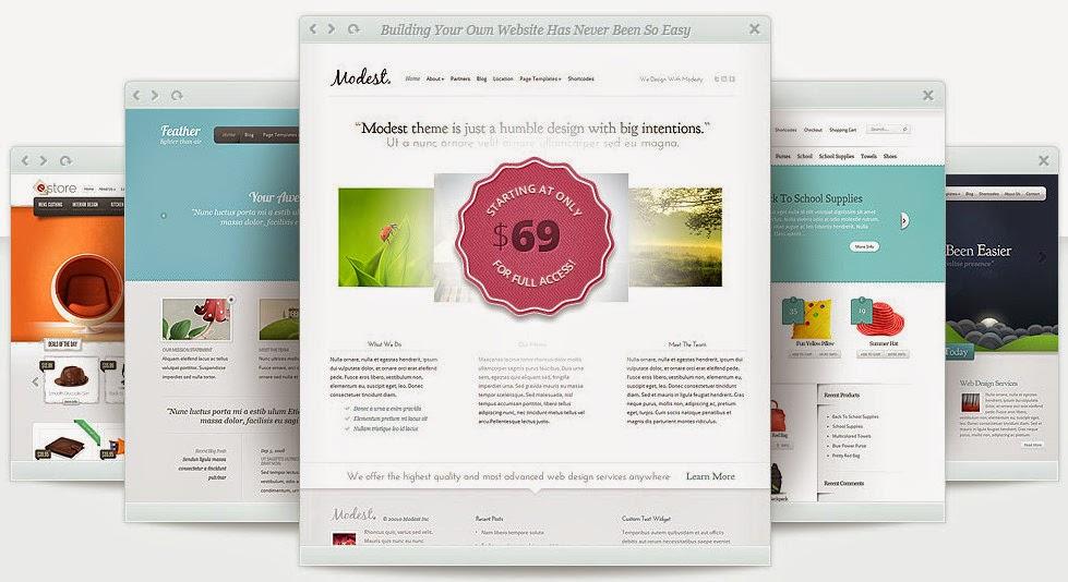 2015 – Share toàn bộ wordpress theme tại elegantthemes.com