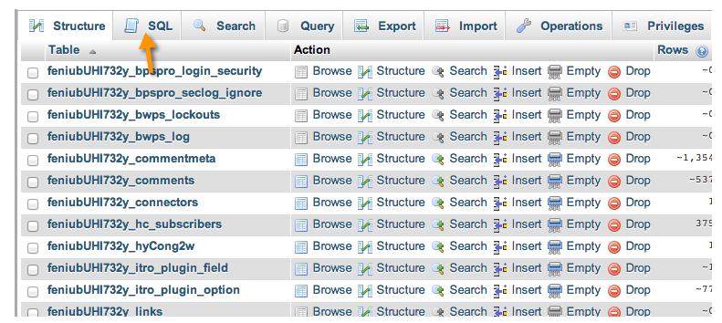 Làm sạch database trong thiết kế web chuyên nghiệp