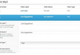 Cách thiết kế web có khung phát nhạc MP3 và ZippyShare